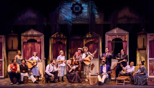 Montgomery College Theatre Department's cast of Twelfth Night