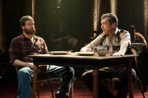 Timothy J. Alex (left) as Red and Bobby Smith (right) as Dwayne in Midwestern Gothic