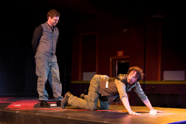 Erik Harrison as Bacurius and Ian Blackwell Rogers as Bessus