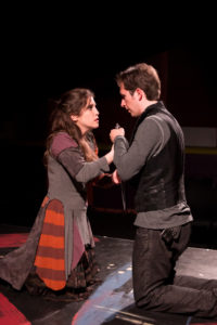 Jenna Berk as Annabella and Danny Cackley as Giovanni.