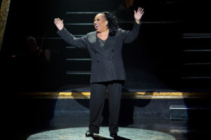 "Roz Ryan stars as Matron ""Mama"" Morton in the Tony Award-winning hit musical CHICAGO."