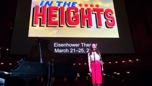 A selection performed from In The Heights at The Kennedy Center's 2017/2018 Season announcement press conference