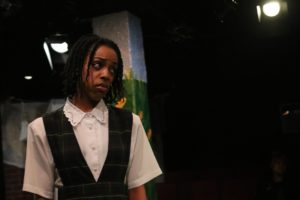Amber Hooper as Dorothy in The Wiz