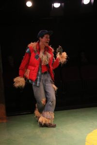 Justin Johnson as Scarecrow in The Wiz