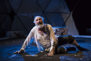 Rick Foucheux as King Lear