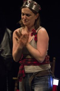 Tess Garrett as Lady Macbeth