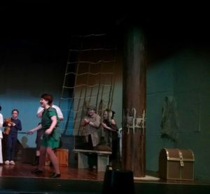 Ashley Gerhardt as Peter Pan