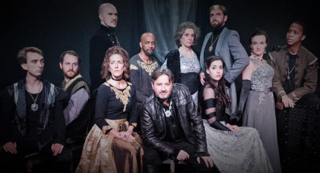 The cast of Annapolis Shakespeare Company's Richard III