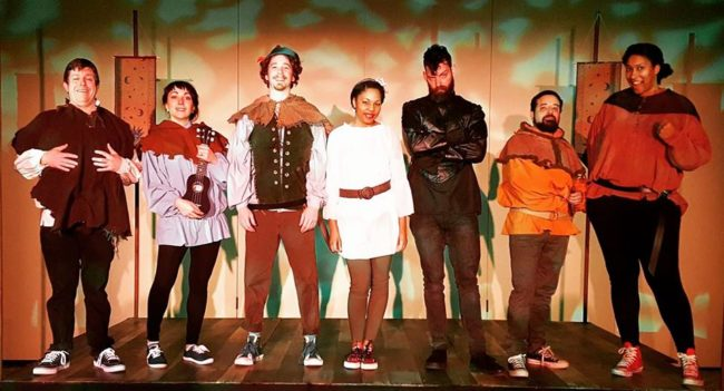 The Cast of Robin Hood at Pumpkin Theatre