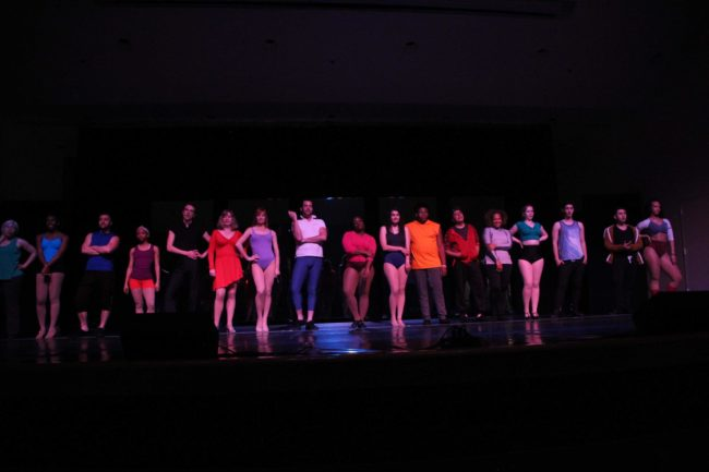 "The Company of Tantallon Community Players' ""A Chorus Line"""