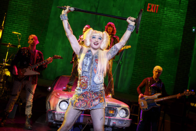 Euan Morton as Hedwig in Hedwig and The Angry Inch