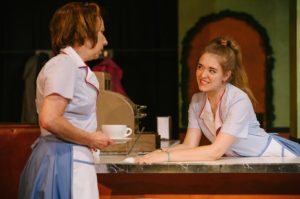 Julie Herber (left) as Heather and Lauren Johnson (right) as Melissa