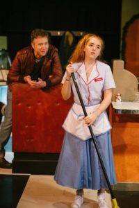 Lauren Johnson (front) as Melissa and Matt J. Bannister (back) as Fred