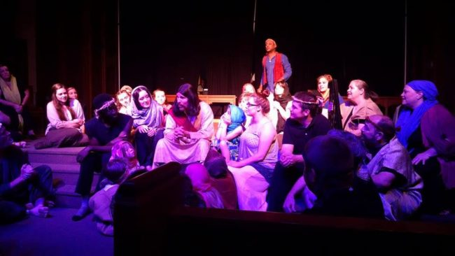 The cast of Jesus Christ Superstar at Third Wall Productions