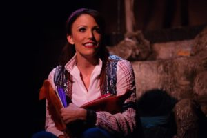 Caroline Bowman as The Narrator