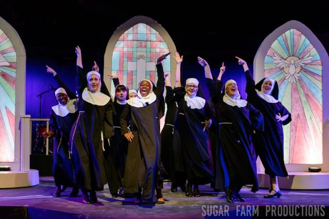 The Nuns of Sister Act at Annapolis Summer Garden Theatre