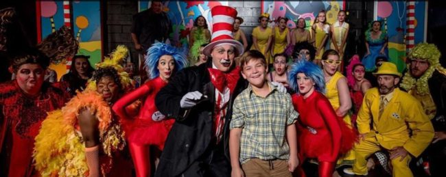 The Cast of Seussical the Musical at Street Lamp Prodctions