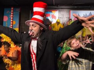 Robert Tucker as The Cat in the Hat