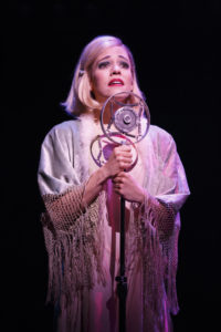 Leigh Ann Larkin as Sally Bowles in the 2017 National Touring production of Roundabout Theatre Company's CABARET