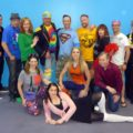 The Cast of Godspell at Pasadena Theatre Company