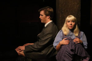 Sean Dynan (left) as Melchior and Allison Comotto (right) as Wendla
