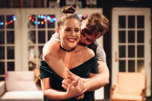 Amber Wood (left) as Susan and Adam Cooley (right) as Jonathan
