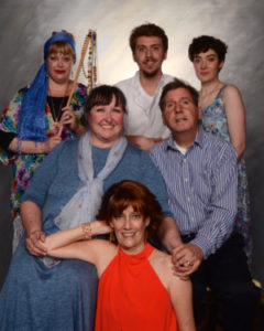 The cast of Vanya and Sonia and Masha and Spike at Cockpit in Court
