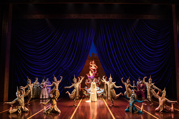 The cast of Rodgers and Hammerstein's The King & I