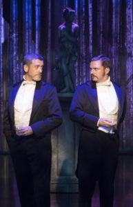 Bobby Smith (Fredrik Egerman) and Will Gartshore (Carl-Magnus Malcolm) in A Little Night Music at Signature Theatre.