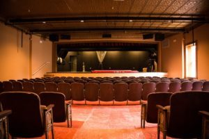 Inside the newly renovated Cultural Arts Center at the Opera House in Havre de Grace