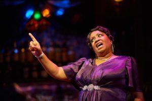 Miche Braden as Bessie Smith in The Devil's Music