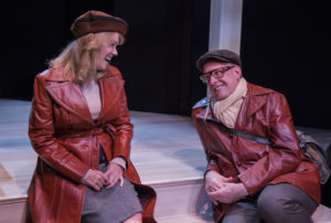 Beth Hylton (left) as Heidi Holland and Joseph W. Ritsch (right) as Peter Patrone