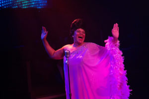Crystal Freeman as Effie Melody White in Dreamgirls