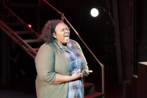 Felicia Akunwafor as Ella Hammer in The Cradle Will Rock