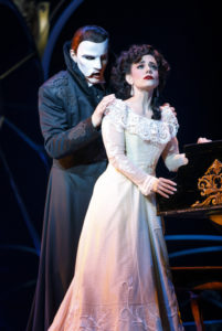 "Gardar Thor Cortes (""The Phantom"") and Meghan Picerno (""Christine Daaé"") star in Love Never Dies"