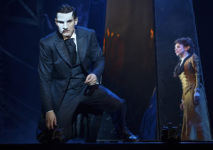 "Gardar Thor Cortes (""The Phantom"") and Meghan Picerno (""Christine Daaé"") star in Love Never Dies."