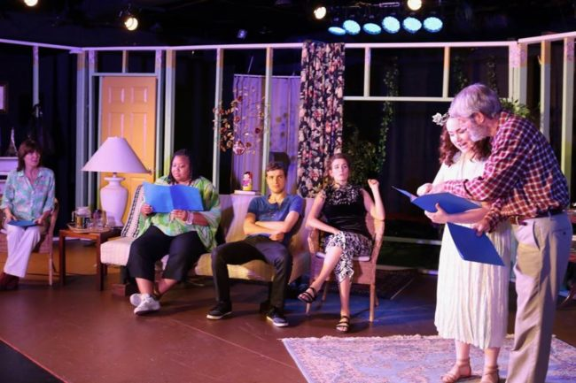 The cast of Highwood Theatre's Vanya and Sonia and Masha and Spike