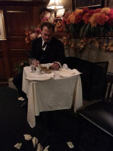 John Kelso as Edgar Allen Poe in Poe's Last Stanza by Ceej Crowe