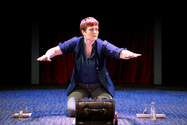 Charlene V. Smith as Doctor Joan Faustus.