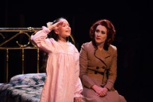 Camden Lippert (left) as Susan Walker and Heather Marie Beck (right) as Doris Walker
