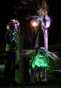 The Fluid Movement Druid in Druid Hill Haunt: A Chiller Thriller Roller Show