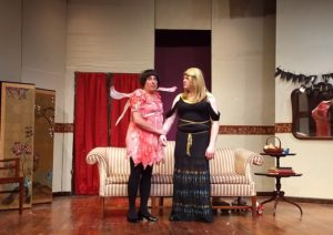 Lenny Taube (left) and Jim Gerhardt (right) in Leading Ladies at The Salem Players