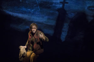 Nick Cartell as Jean Valjean in the National Tour of Les Misérables