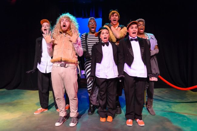 The cast of Madagascar: A Musical Adventure at Red Branch Theatre Company