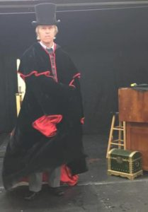 Jim Fitzpatrick as Scrooge