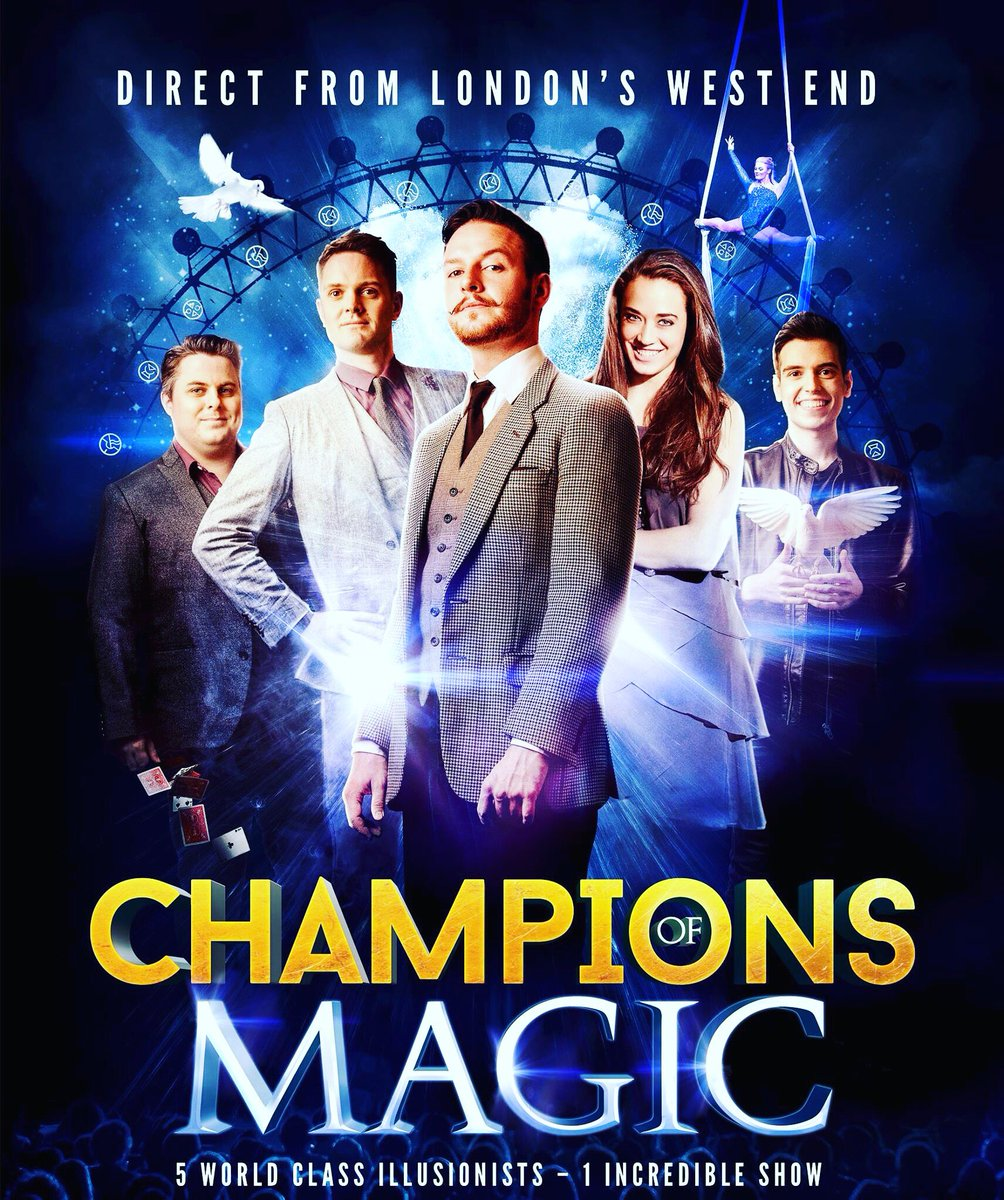 Metro Last Light Theater Acts: Champions Of Magic At The Hippodrome Theatre