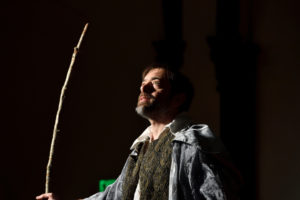 Zach Brewster-Geisz as Prospero in The Tempest