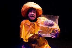 David James as Igor in Young Frankenstein