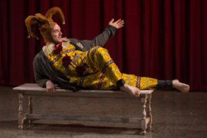 Michael Urie as Hamlet