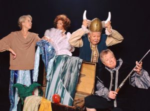 The cast of Quartet now playing at Colonial Players
